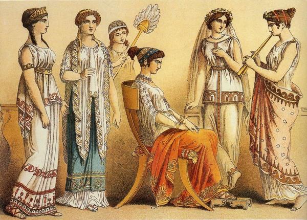 Как выдавали замуж в Древней Греции