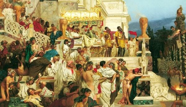 В Древнем Риме выходили замуж в 14 лет