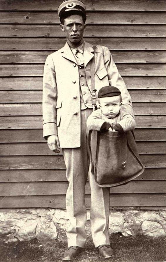 Как детей по почте отправляли