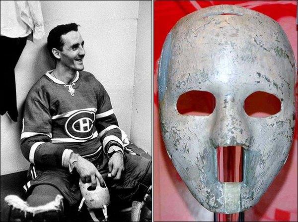 Маска в хоккее раньше считалась признаком трусости