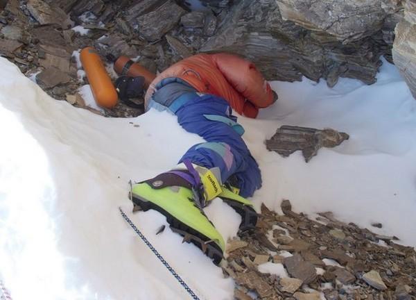 Зеленые ботинки – так называют высоту в 8500 м на Эвересте