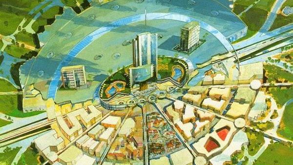 6 невероятных идей для городов, которым не суждено было реализоваться