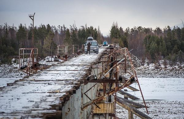 Куандинский мост: самый опасный в России