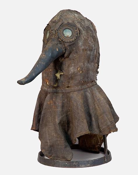 Лекари бубонной чумы зарабатывали в 4 раз больше и носили маски с птичьим клювом