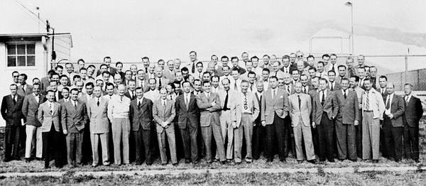 Немецкие ученые, привезенные для работы в США по операции «Скрепка»