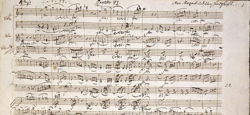 интересные факты о моцарте кратко для детей