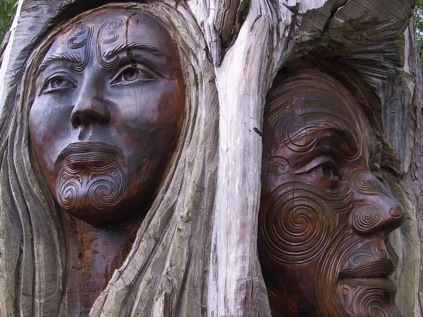 маори скульптура
